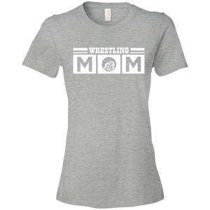 Wrestling Mom - Womens Shirt