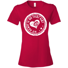 My Heart Is On That Wrestling Mat - Womens Shirt