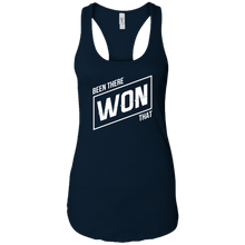 Been There Won That Womens Racerback Tank