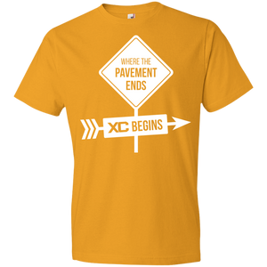 The Pavement Ends Where XC Begins Unisex Shirt