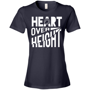 Heart Over Height (Softball)  - Womens Shirt