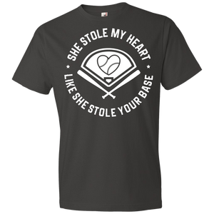 She Stole My Heart Like She Stole Your Base - Unisex Shirt