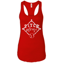 Pitch, Please - Womens Racerback Tank