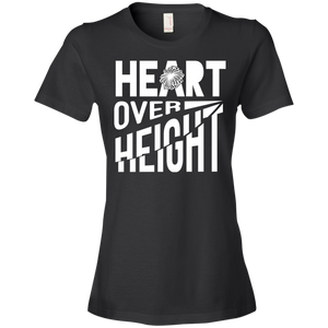 Heart Over Height (Cheer) - Womens Shirt