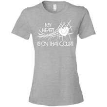My Heart Is On That Tennis Court - Womens Shirt