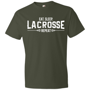 Eat. Sleep. Lacrosse. Repeat - Unisex Shirt