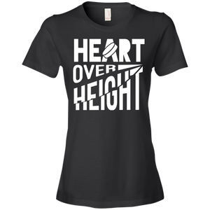 Heart Over Height (Hockey ) - Womens Shirt