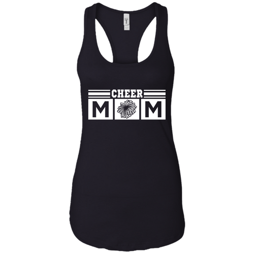 Cheer Mom Womens Racerback Tank