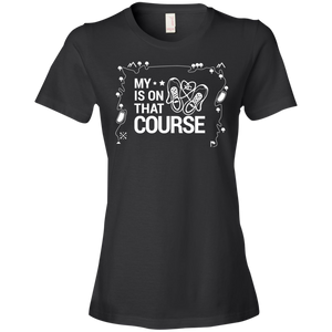 My Heart Is On That XC Course - Womens Shirt