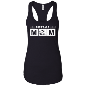 Football Mom Womens Racerback Tank