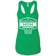 Basketball Mom Womens Racerback Tank