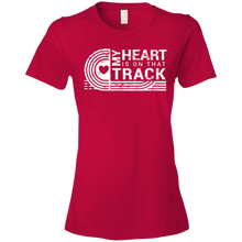 My Heart Is On That Track - Womens Shirt