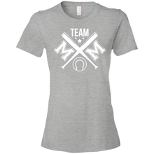 Baseball Team Mom - Womens Shirt