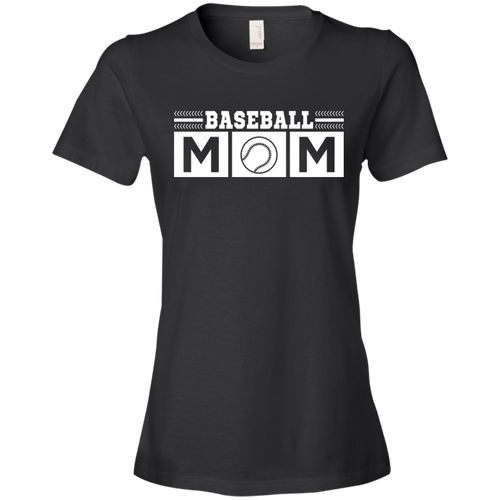 Baseball Mom Womens Shirt