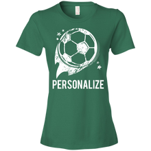 Soccer - Personalize - Womens Shirt