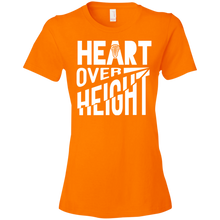 Heart Over Height (Lacrosse) - Womens Shirt