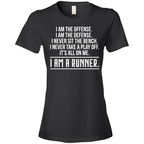 I am a Runner - Womens Shirt