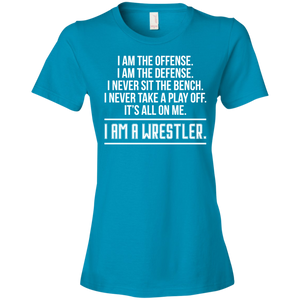I am a Wrestler - Womens Shirt