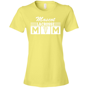 Lacrosse Mom - Personalize - Womens Shirt