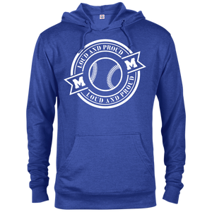 Loud and Proud Softball Mom - Unisex Hoodie