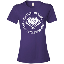 She Stole My Heart Like She Stole Your Base - Womens Shirt