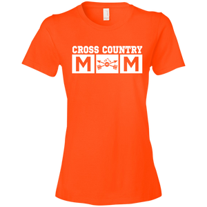 Cross Country Mom Womens Shirt
