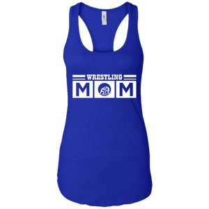 Wrestling Mom Womens Racerback Tank