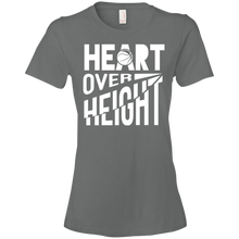 Heart Over Height (Basketball) - Womens Shirt