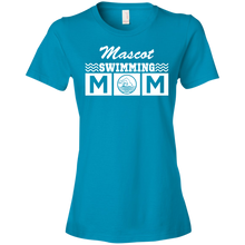 Swim Mom - Personalize - Womens Shirt
