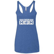 Cheer Mom - Womens Tri-Blend Racerback Tank