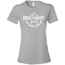 Wet Grass Open Air Cross Country Womens Shirt