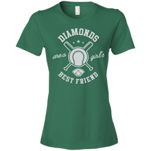 Diamonds Are A Girl's Best Friend - Womens Shirt