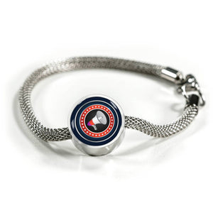 Cheerleading Charm Bracelet - Personalized Engraved Jewelry