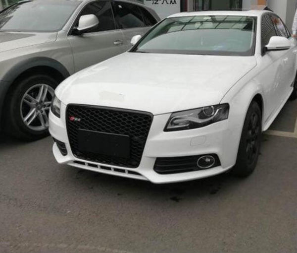 Rs4 Style Front Bumper Mesh Grill Fits Audi A4 S4 RS4 S