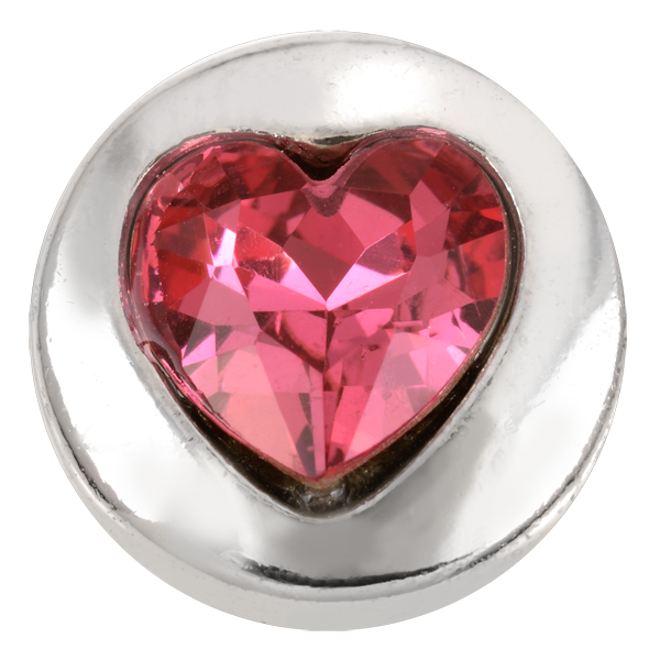 Heart - Pink Crystal