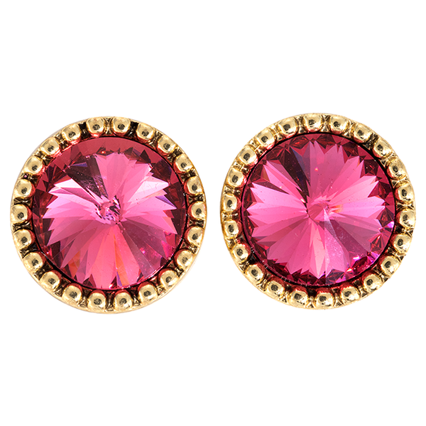 Studs - PINK / GOLD