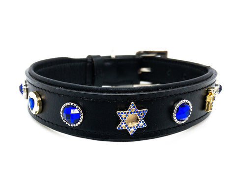 Hanukkah Theme Collar