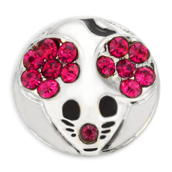 Studs - PINK / SILVER