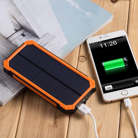 cheap for discount a0f17 36347 Waterproof Solar Power Phone Charger