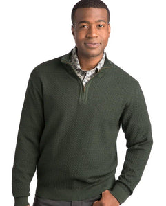 Merino Wool Quarter-Zip Mock