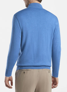 Crown Soft Merino-Silk Quarter-Zip