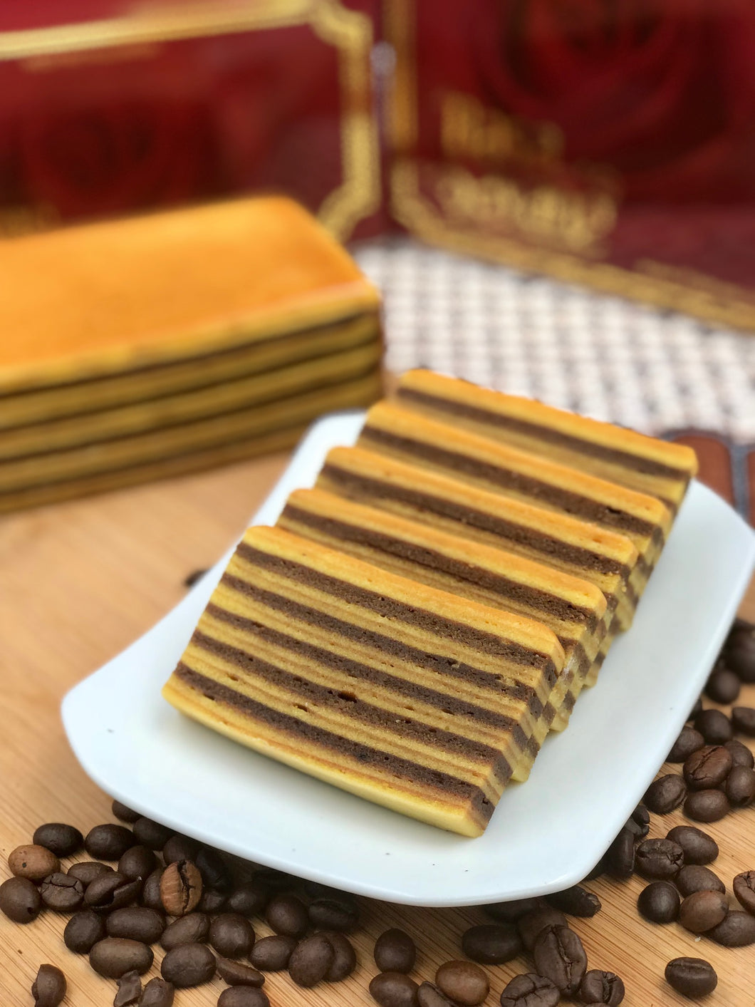 Kue Lapis Coffee