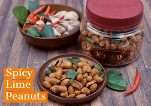 Spicy Lime Peanuts