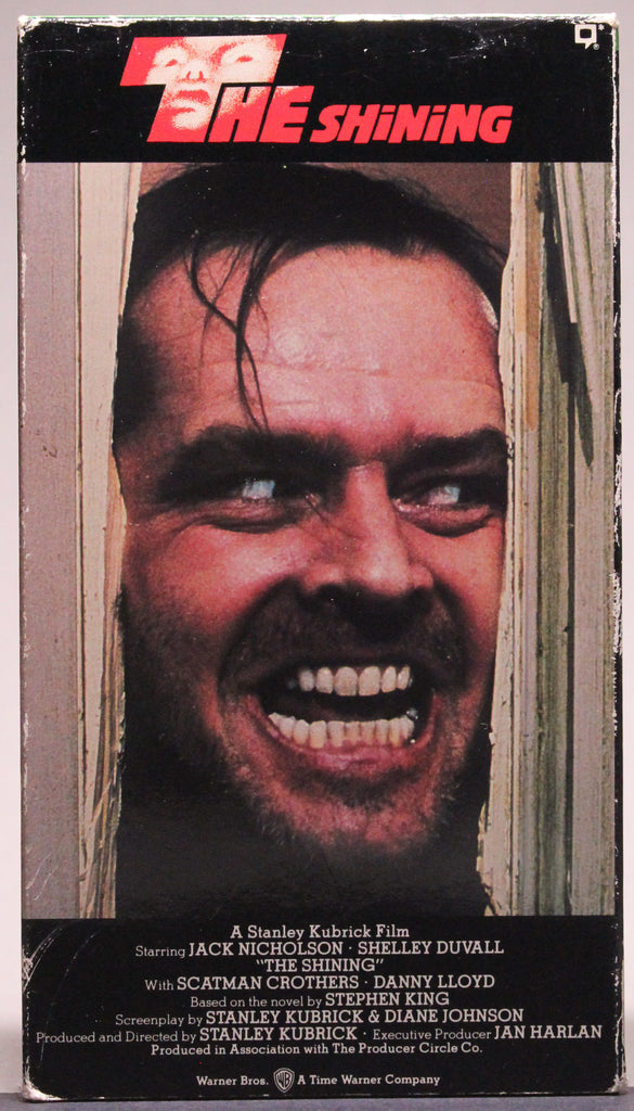 THE SHINING - VHS: Warner Home Video, 1990