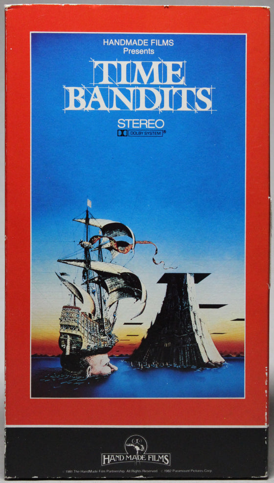 TIME BANDITS - VHS: Paramount Home Video, 1982