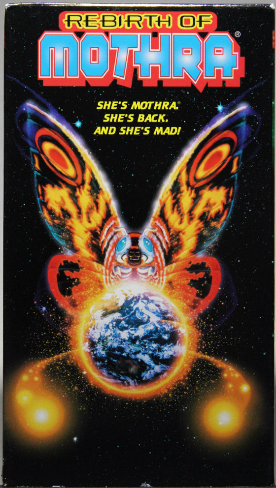 REBIRTH OF MOTHRA - VHS: Columbia Tri Star Home Video, 1999