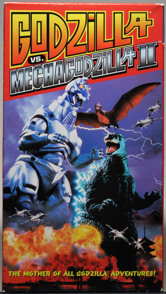GODZILLA VS. MECHAGODZILLA II - VHS: Columbia Tri Star Home Video, 1999
