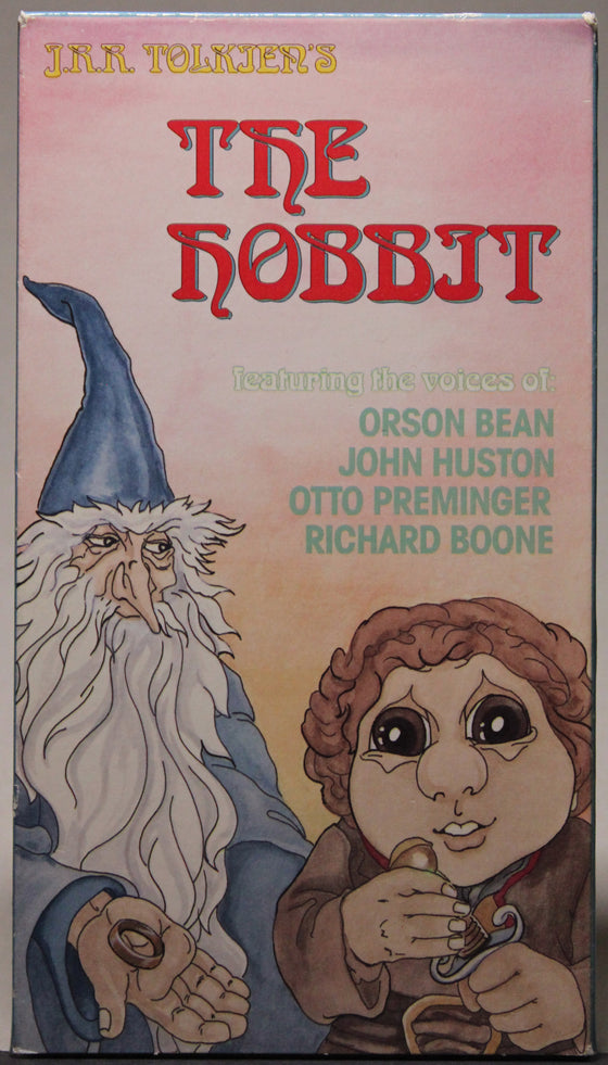 THE HOBBIT - VHS: MNTEX Entertainment, 1992