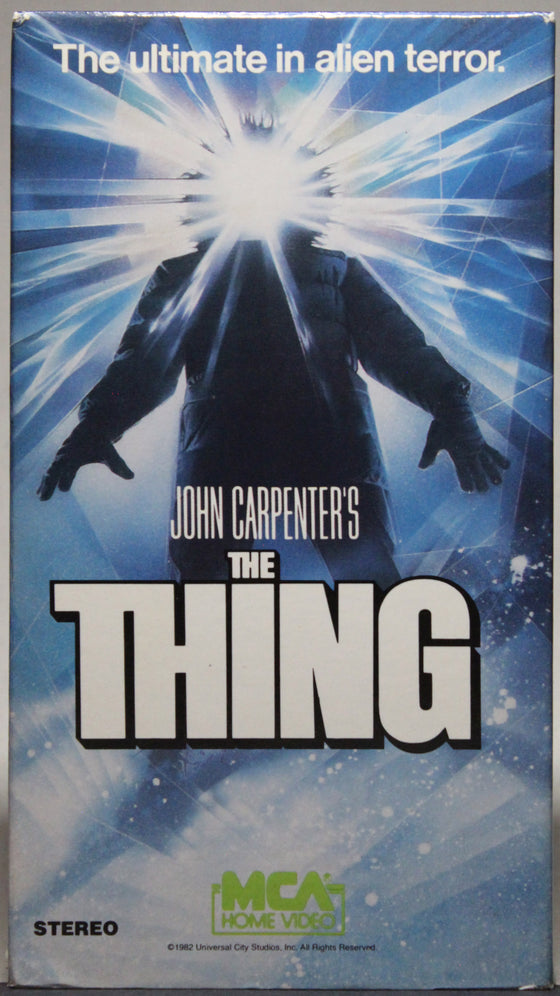 John Carpenter's: The Thing - VHS