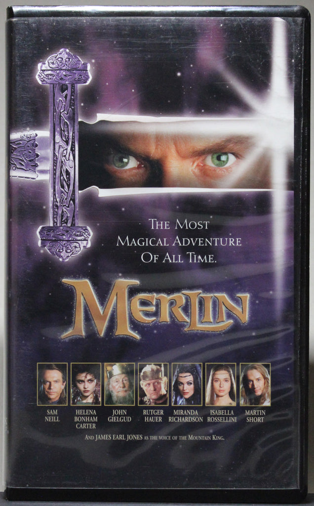 MERLIN - VHS: Hallmark Home Entertainment, 1998